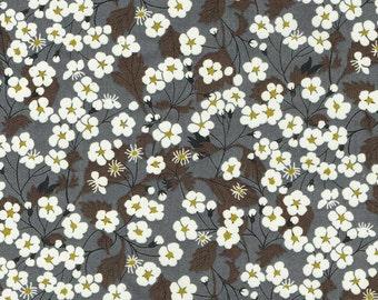 Liberty Fabric Mitsi Grey / Gray Tana Lawn Fat Quarter