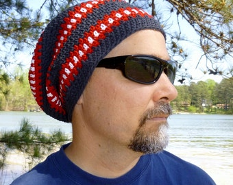 Crochet Pattern Cubed Hat in two styles Slouchy and Beanie for Adult Male Men Children Tweens Teens INSTANT pdf DOWNLOAD BONUS Crazy Frog