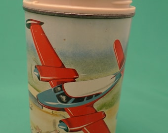 1960 Hometown Airport Thermos