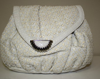 Sharif white purse from Stylefinders