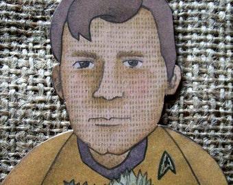 Captain Kirk Star Trek Original Series Ornament