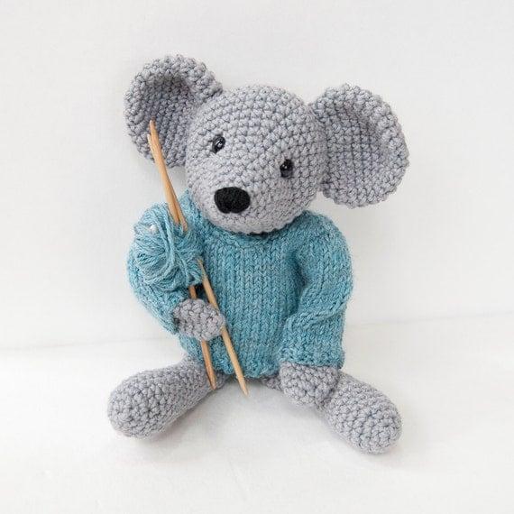 PDF Crochet Pattern Amigurumi Mouse
