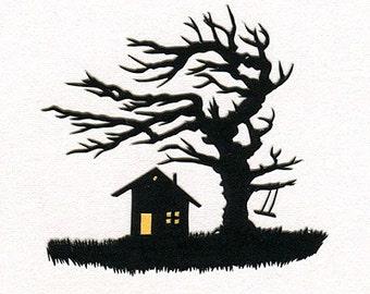 Windy Nook Hand-Cut Papercut