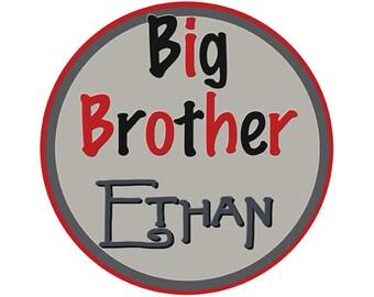 Big Brother Sticker Boy  Baby stickers Waterproof  Great Newborn Photo Prop