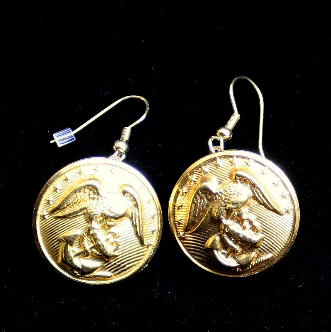 us marine corps sweetheart jewelry earrings made with large. Black Bedroom Furniture Sets. Home Design Ideas