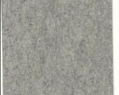 Pure Wool Felt Sheet - Marl Light Grey - Half Metre / Quarter Metre