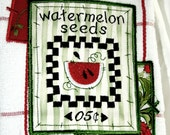 Farmstand Kitchen Towels - Watermelon Seeds