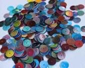 100 pcs round multi colored sequins/KBRS129