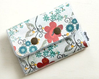 Vintage Vines - Double Snap Wallet