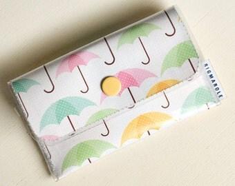 Spring Showers  -  Vinyl Card Wallet