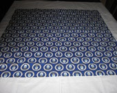 Tablecloth with Printed U S Air Force Designs and White Border