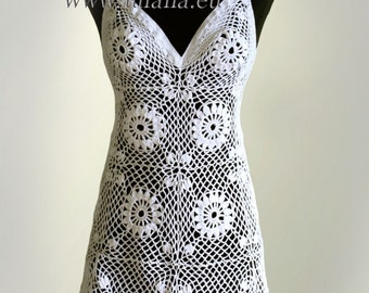 Dress. Crochet Pattern No 231