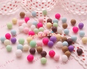 Rainbow Candy Deco Toppings 30pcs Polymer Clay Miniature Sweets Kawaii Cabochon Decoden Pieces