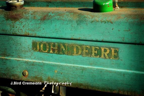 John Deere 8x12 Print John Deere Decor By Birdseyephotography