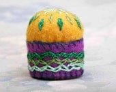 Pin Cushion - Miniature Mardi Gras (MPC 7)