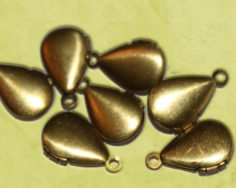 Vintage Mini Teardrop Locket (6)