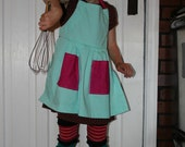 Child Apron for Girls - One of a Kind