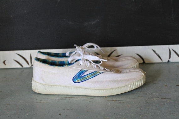 Vintage Tretorn Canvas Sneakers Size 9