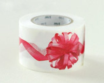 mt ex Washi Masking Tape - Ribbon in Pink
