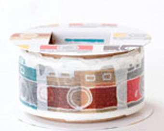 PetaPeta Washi Masking Tape - Camera - Die Cut