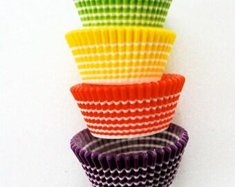 Assorted Horizon Stripe Cupcake LIners (40)