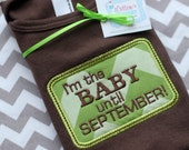 Pregnancy Announcement Baby Shirt - You choose the wording