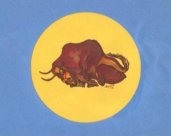Altrmira Bull...Cave Art