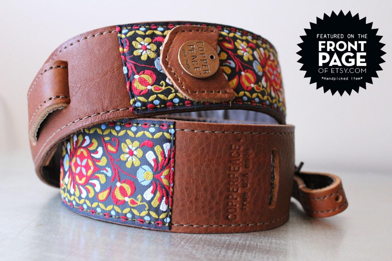 gypsy leather banjo strap. Black Bedroom Furniture Sets. Home Design Ideas