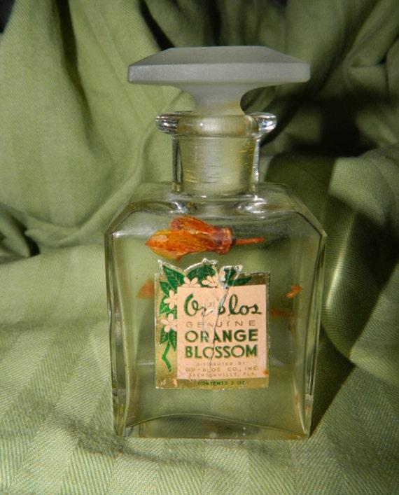 Fragrance Orange Blossom Perfume: Vintage Or Blos Genuine Orange Blossom Perfume Bottle