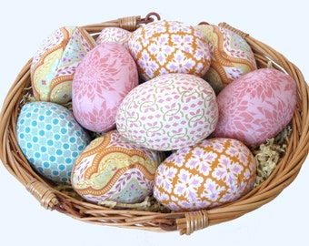 Simple Easter Eggs- Sewing Pattern