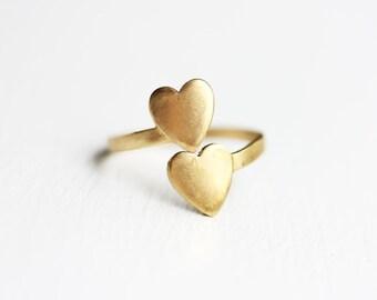 Spiral Heart Ring