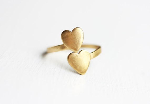 Spiral Heart Ring