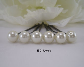 SALE Single Pearl Hairpins