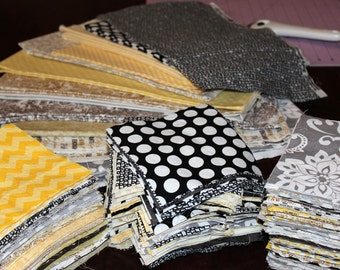"""Custom, Colors, DIY, Quilt, Kit, 250, Designer, Cotton, or, Flannel, 6"""", Squares, Customized, Quilt, Squares, Prewashed, Ready To Go"""