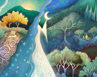 Bringer of Night.' An art print by Amanda Clark.