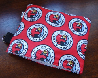 Angry Birds snack sandwich pouch pack bag, red from Finland