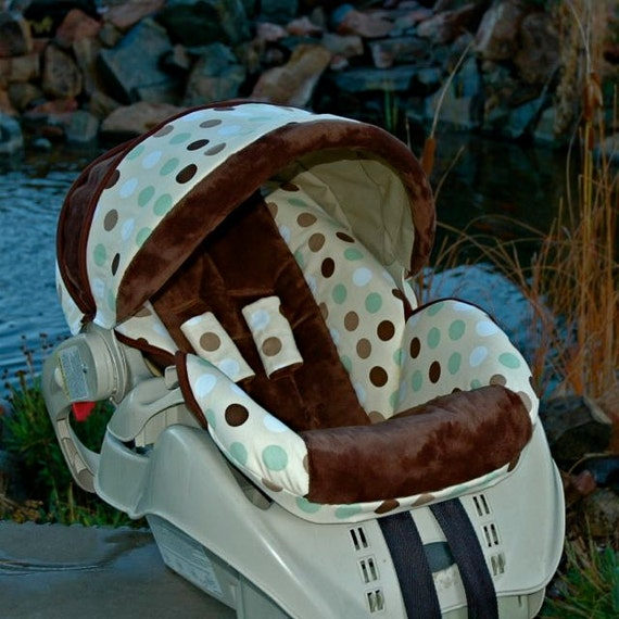 items similar to custom replacement baby car seat cover graco snugride 22 monkey business on etsy. Black Bedroom Furniture Sets. Home Design Ideas