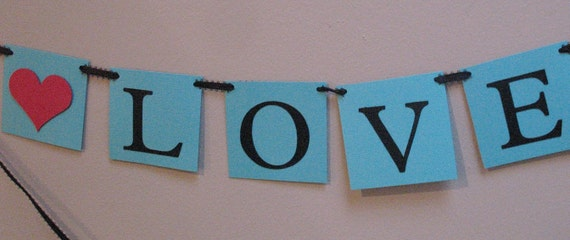 Love is Sweet Banner - Ready to Ship Today
