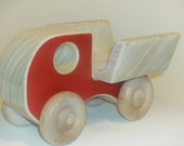 Wooden toy  Work Truck