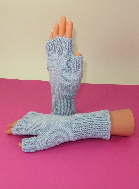 Knitting Pattern For Short Finger Gloves : Digital pdf file knitting pattern Simple Short by madmonkeyknits