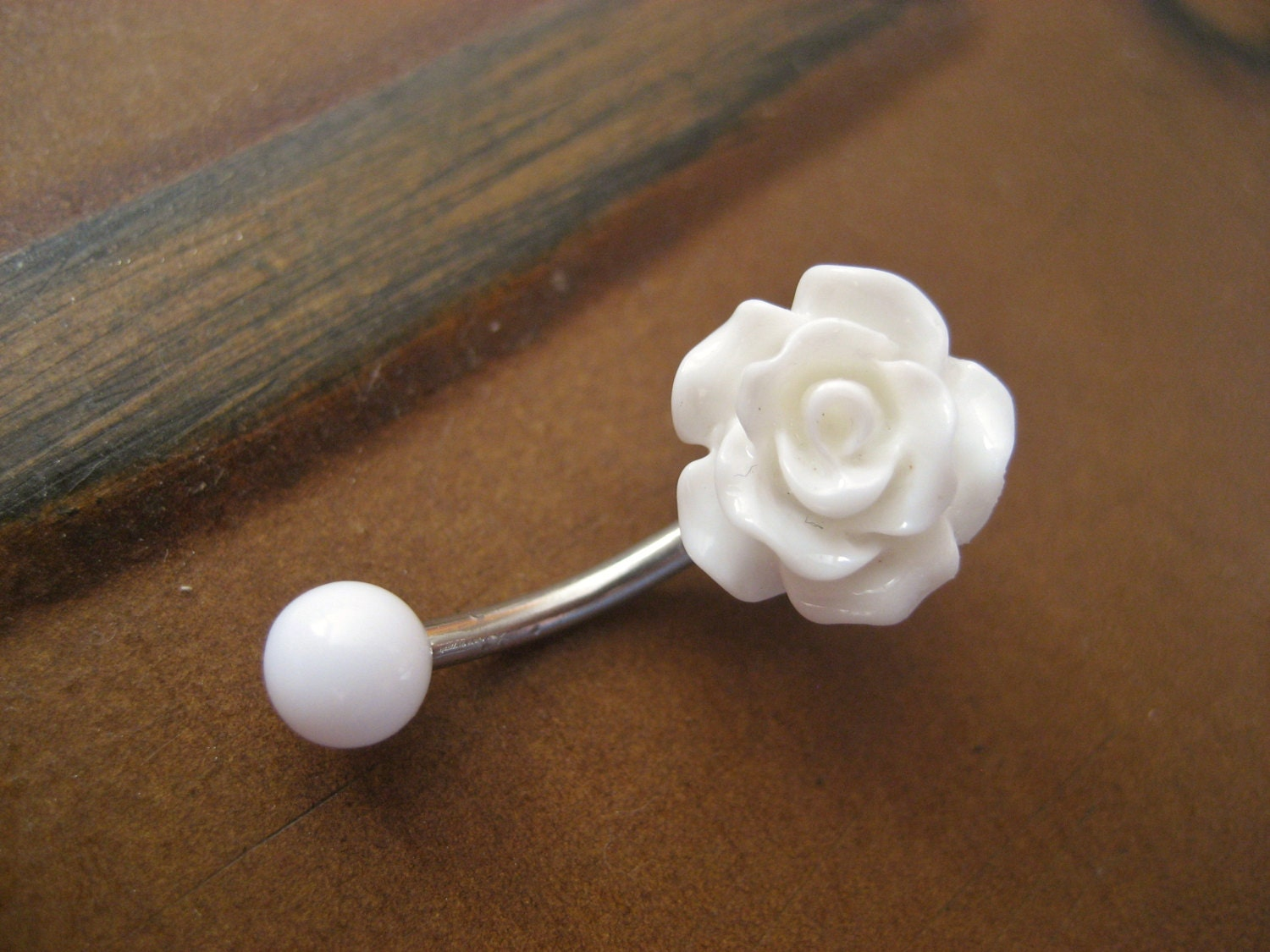 Belly Button Ring Jewelry Rose Belly Button Ring Jewelry