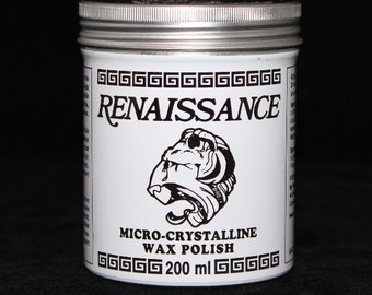 Renaissance Wax Polish The Perfect Protective Coating Large 7 oz