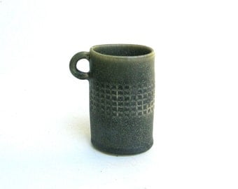 petite hand built porcelain cup