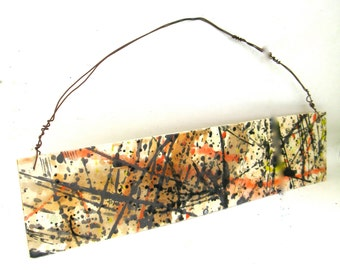abstract expressionism porcelain hanging