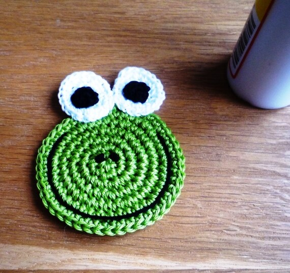 Frog Coaster Pattern