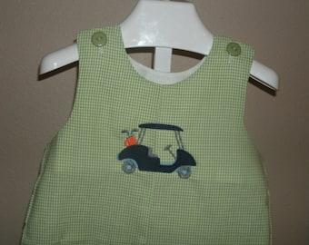 Personalized Golf Shortall JonJon Golf cart
