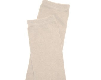 Light Tan Off White Baby Leg Warmers