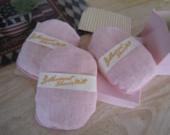 Shower Mitts Spring Morning set