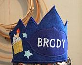 Cupcake and Stars Birthday Crown