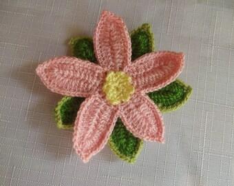 1 Pcs COTTON Crochet Applique Flowers.....